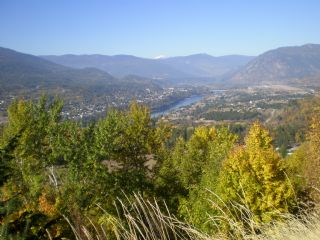 Fall view of Castlegar